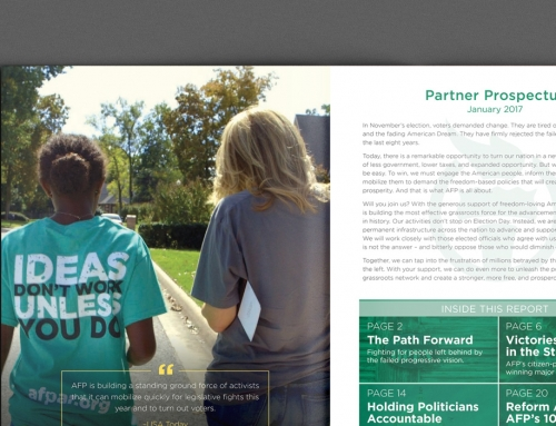 Americans for Prosperity Prospectus Package